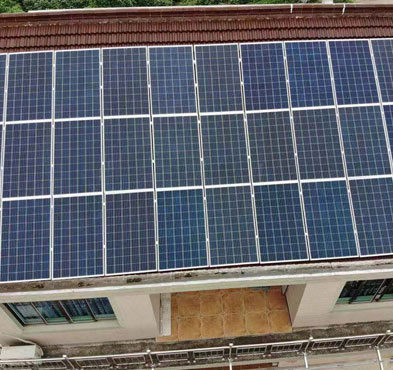 500KW Residential Roof