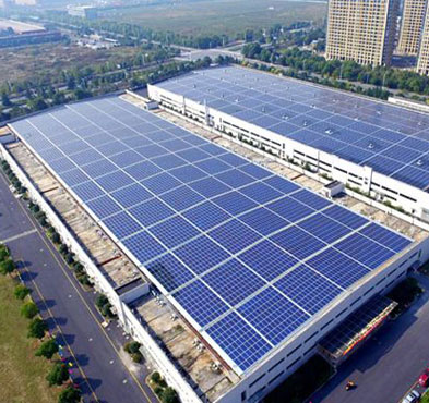 900KW Commercial and Industrial Roof Top Project